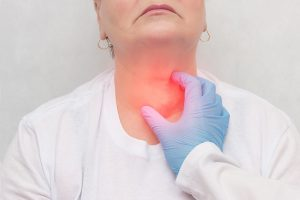 patient suffering from head / neck tumors
