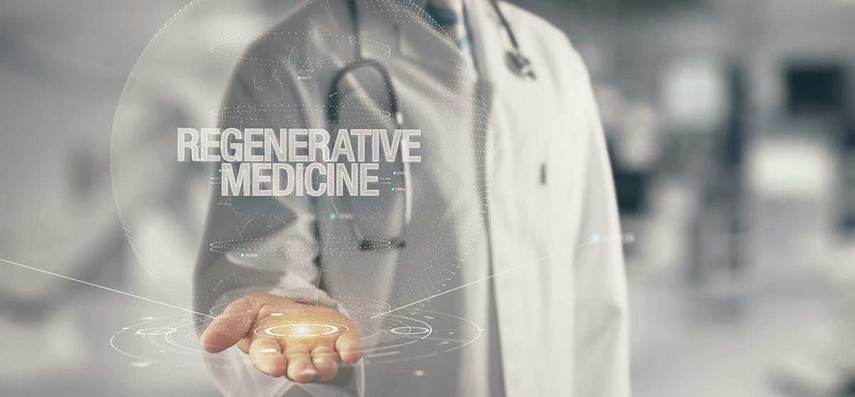 photo illustrating the concept of regenerative medicine
