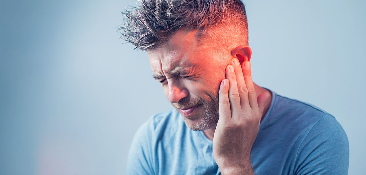 man with acoustic neuroma