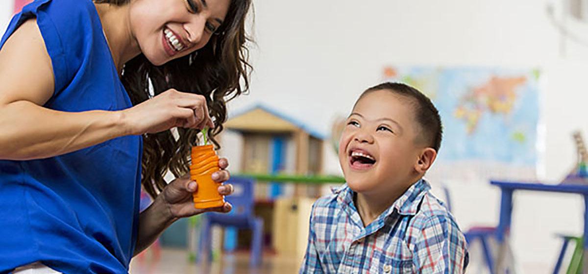 child with Spina Bifida